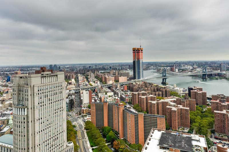 New York City Downtown Skyline