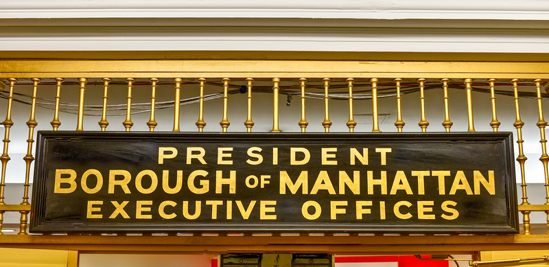 President - Borough of Manhattan