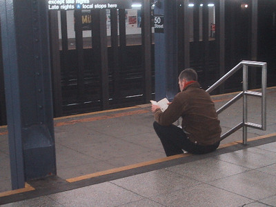 Subway reader