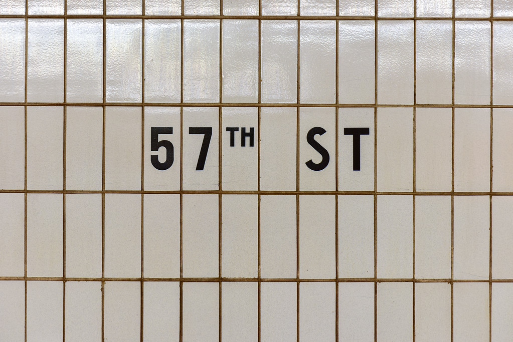 57th Street Subway - New York City