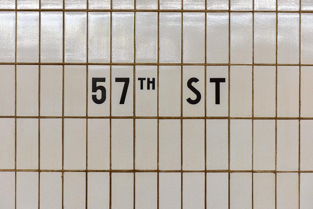 57th Street Subway - New York City