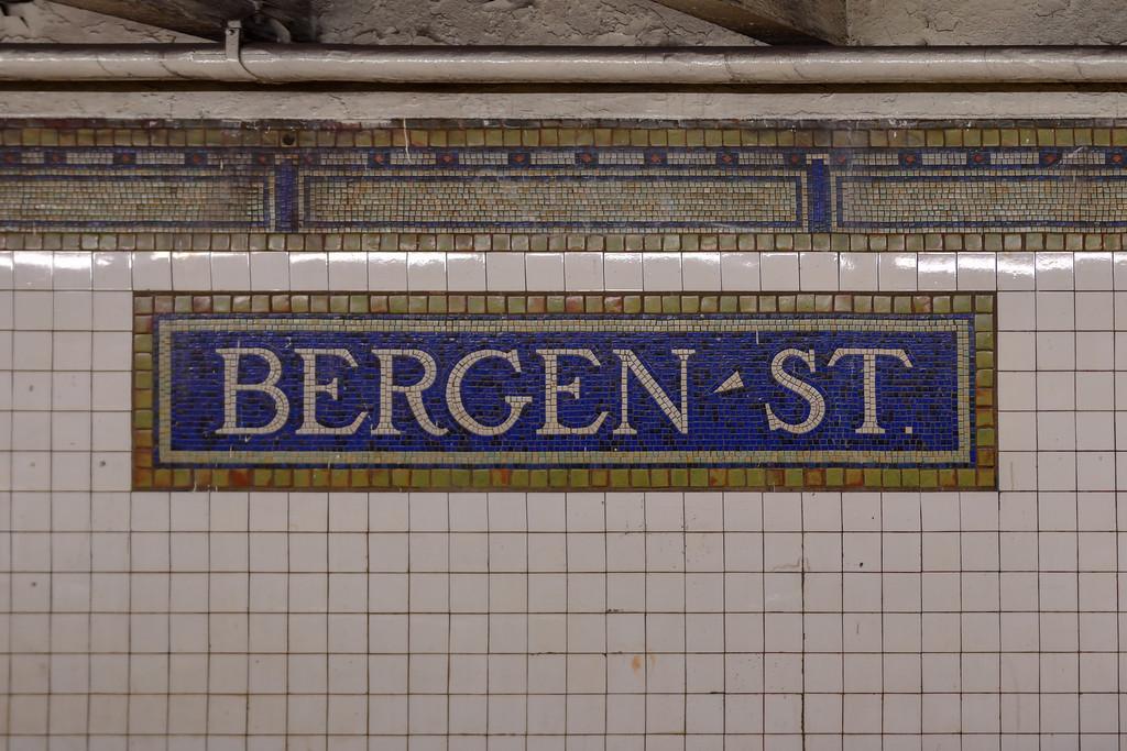 Bergen Street Subway Station - Brooklyn, New York