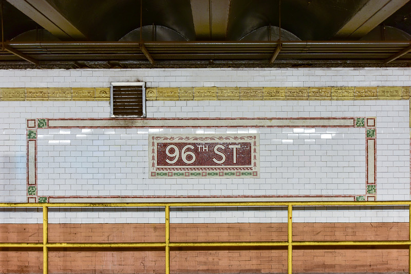 96th Street Subway Station - NYC