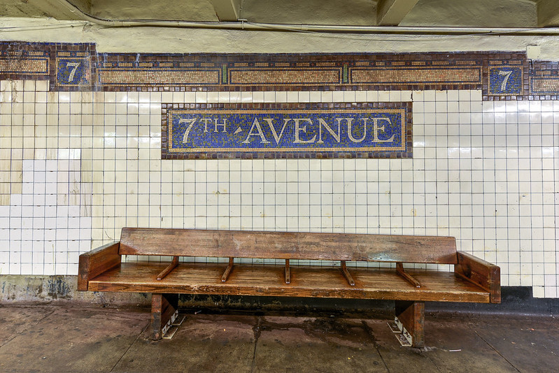 Seventh Avenue Subway Station - Brooklyn, New York