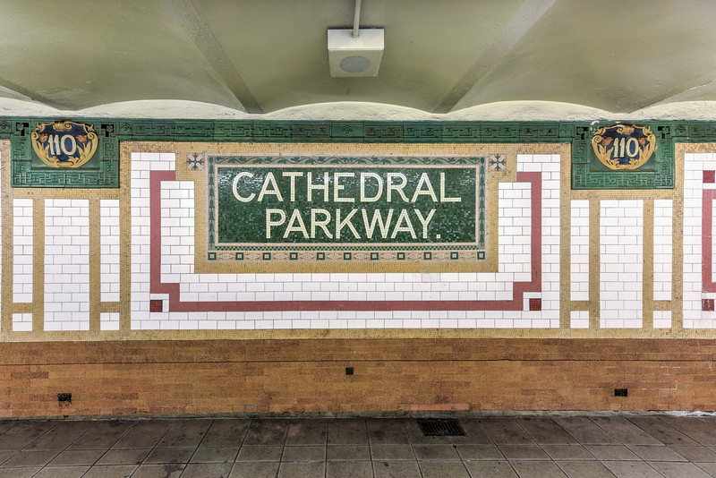 110th Street Subway Station - NYC