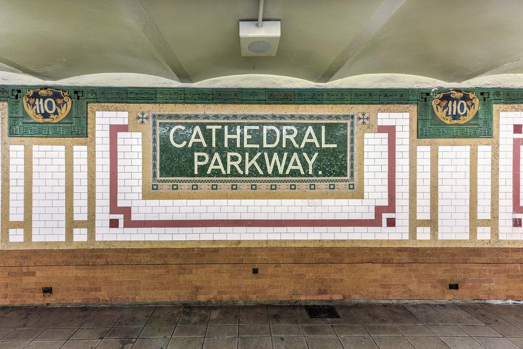 110th Street Subway Station - NYC