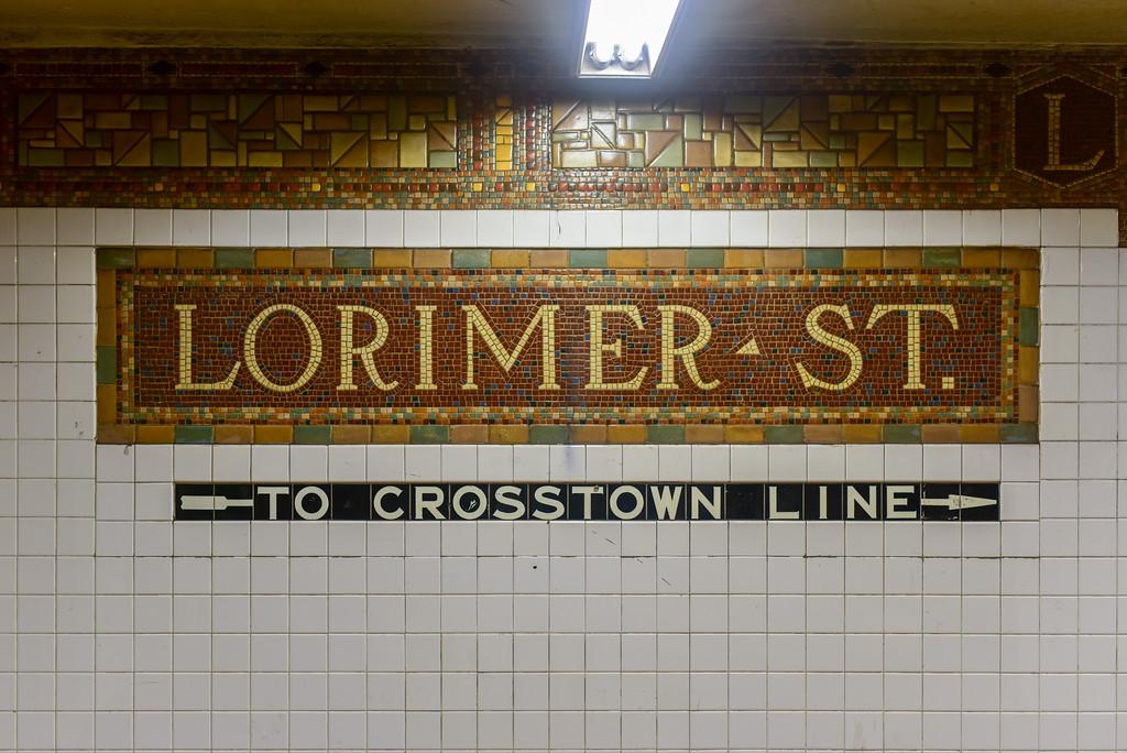 Lorimer Street Subway Station - New York City