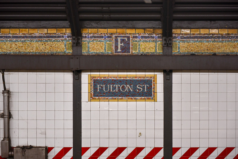 Fulton Street Subway Station - Brooklyn, New York