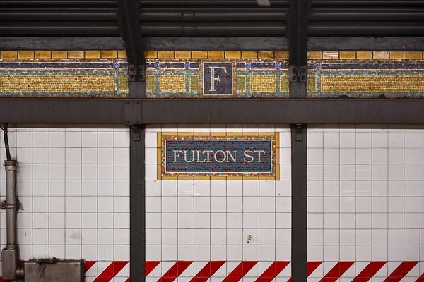 Fulton Street Subway Station - Brooklyn, New York
