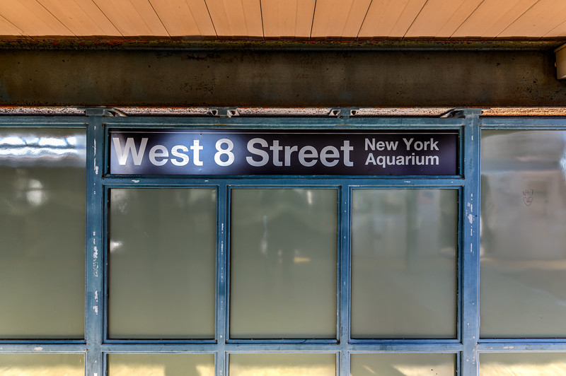 West 8th Street Subway Station - New York City