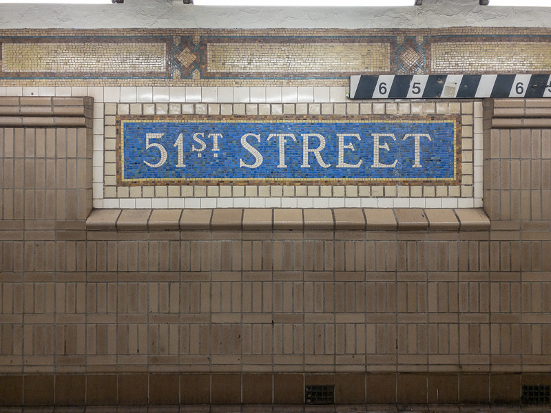 51st Street - NYC Subway