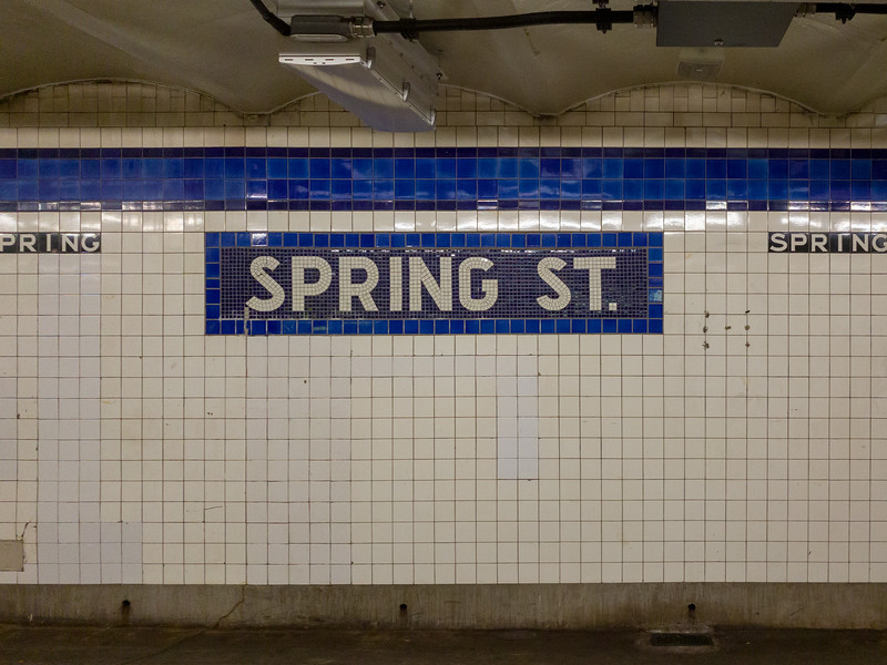 Spring Street Subway Station