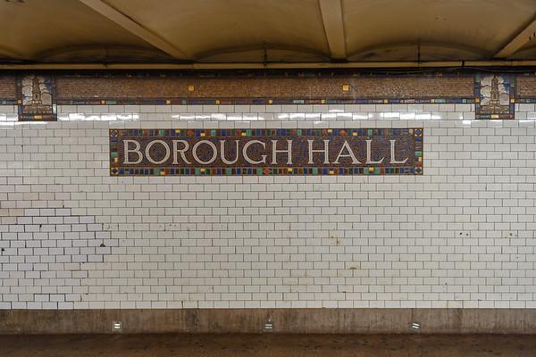 Borough Hall Subway Station - New York City