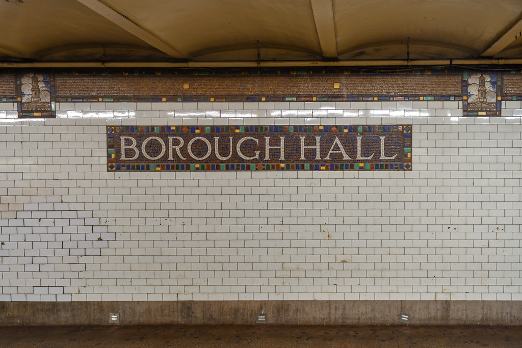 Borough Hall Subway Station - New York City
