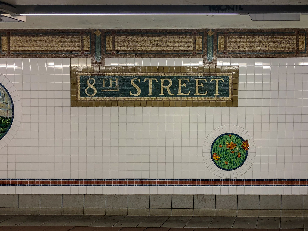 8th Street Subway Station - New York City