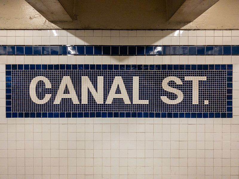 Canal Street Subway - New York City