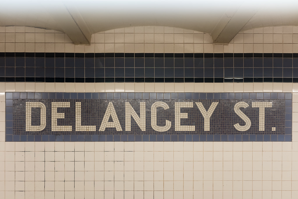 Delancey Street Subway Station - New York City