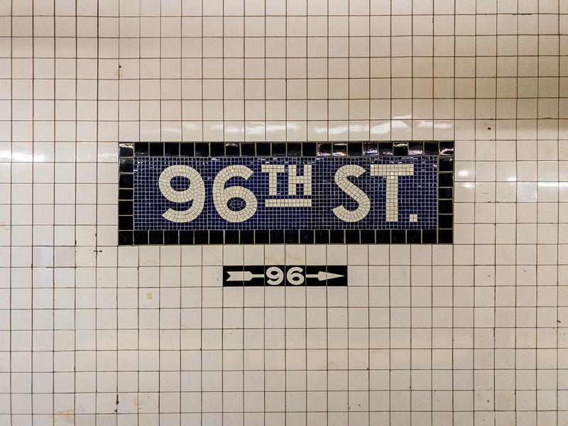 96th Street Station Subweay - New York City