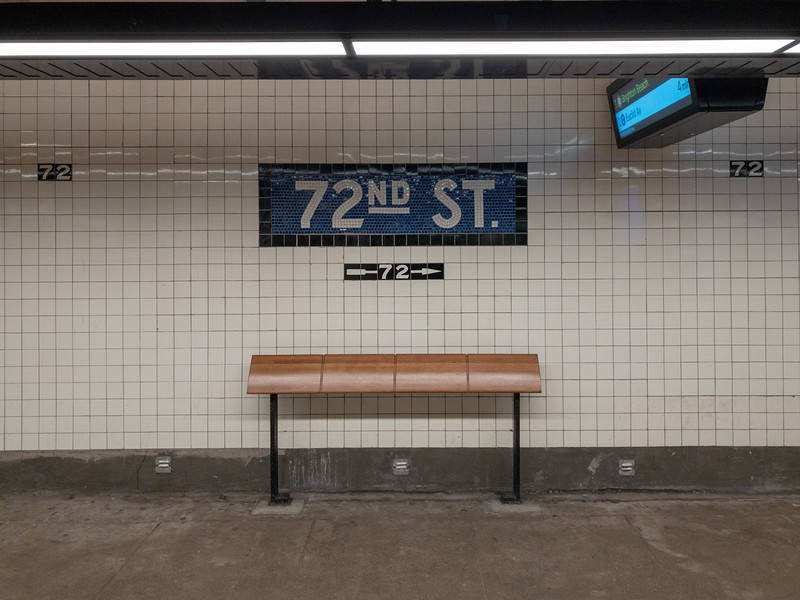 72nd Street - NYC Subway
