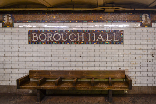 Borough Hall Subway Station - Brooklyn, New York