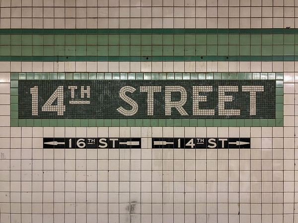 14th Street Subway Station - New York City