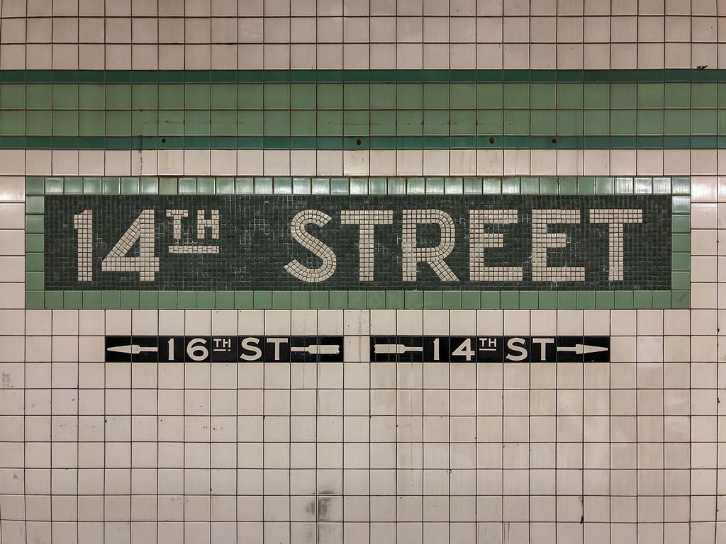 14th Street Subway Station - New York City