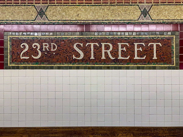 23rd Street Subway Station - New York City