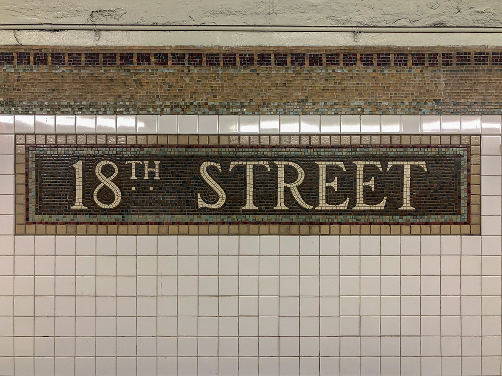 18th Street Subway Station - New York City