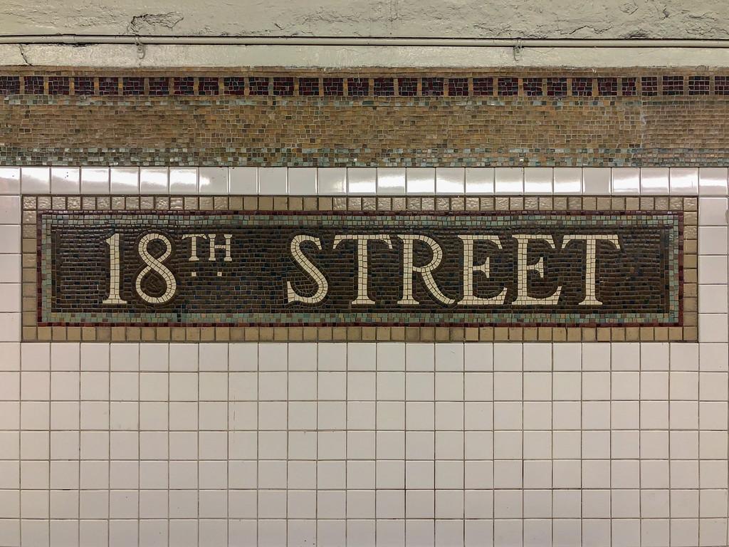 18th Street Subway Station - New York City