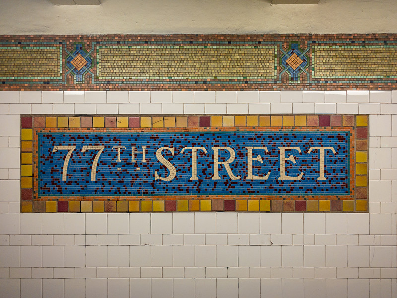 77th Street Subway - New York City