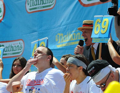 Nathans Hot Dog Contest Coney Island