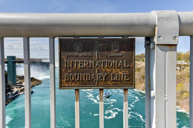 International Boundary Line - USA and Canada