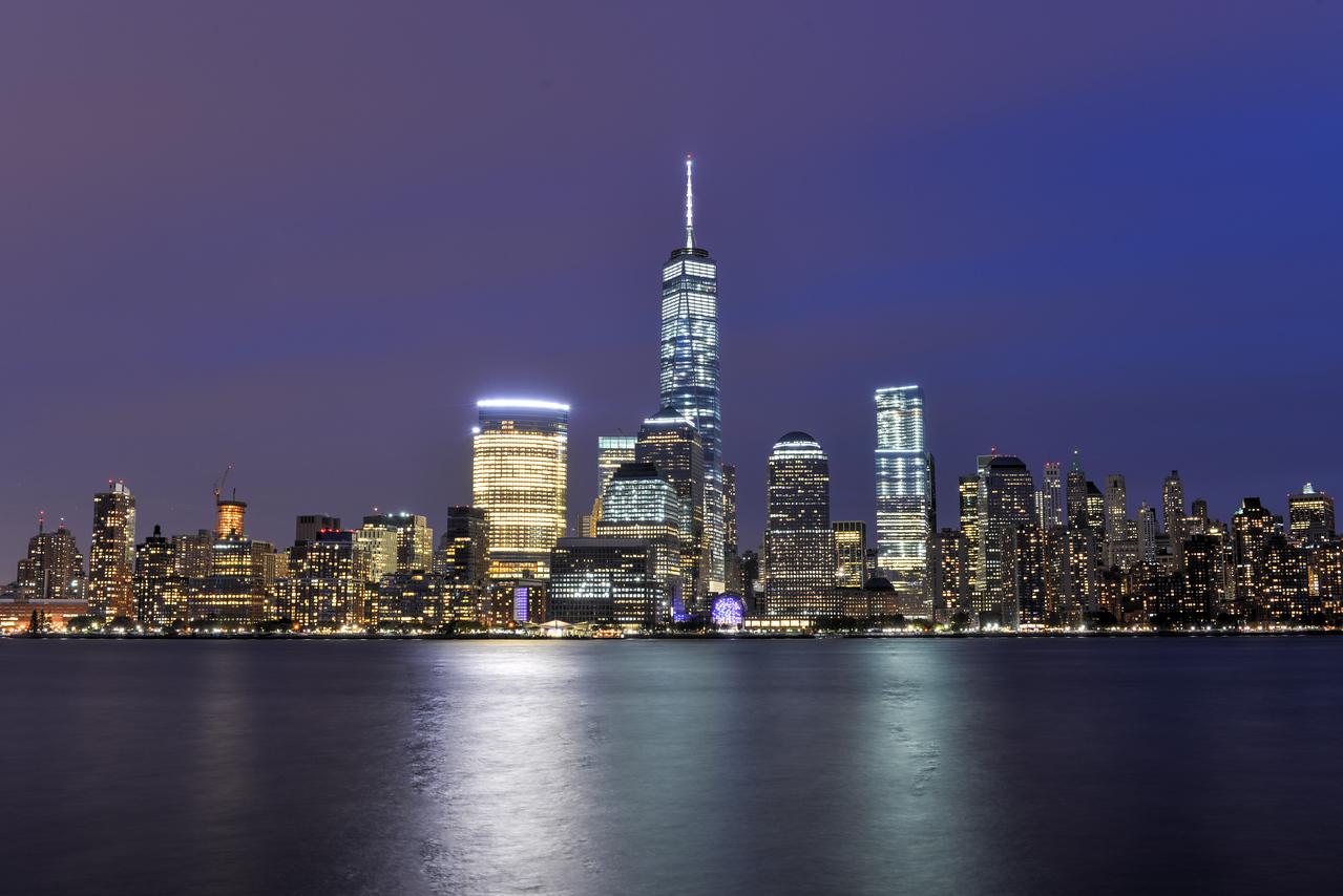 New York City Skyline from New Jersey
