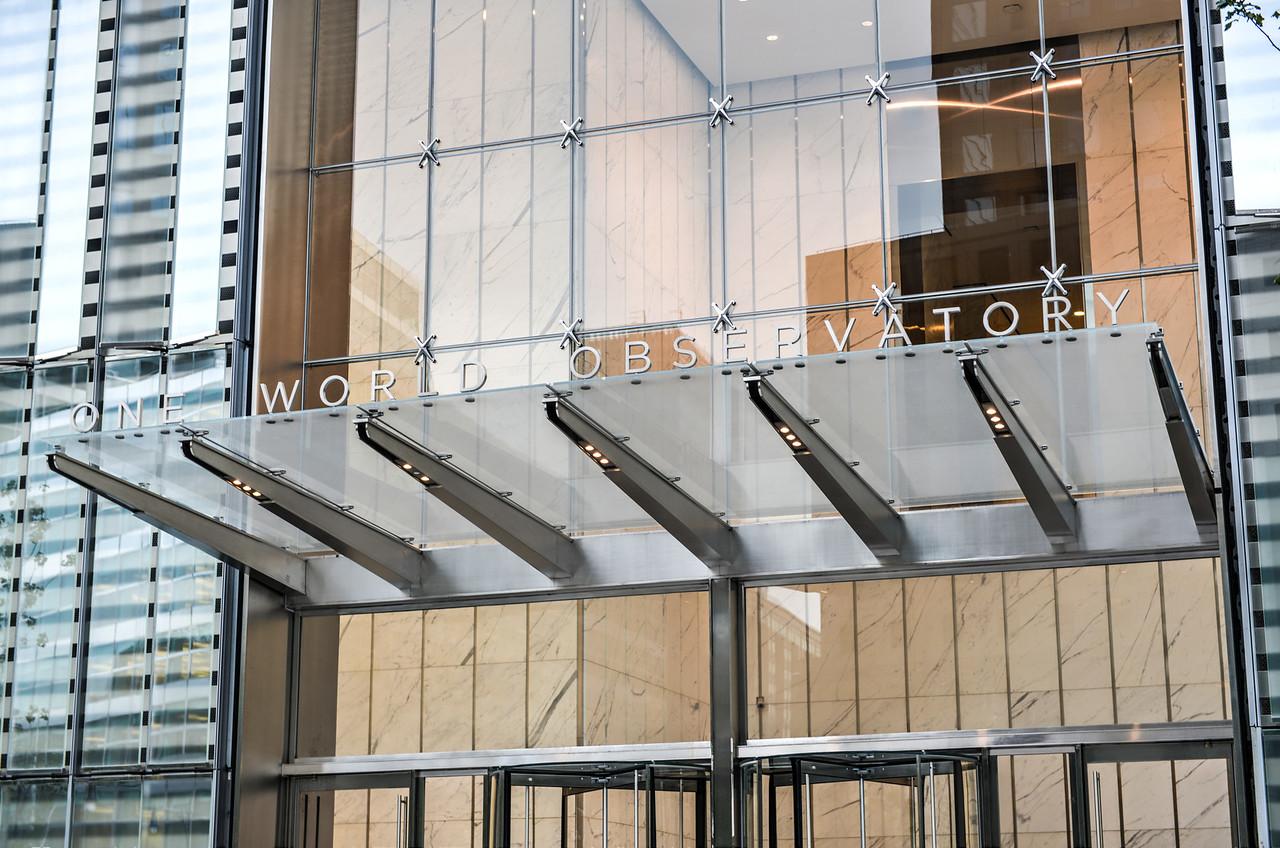 One World Trade Center Observatory Entrance