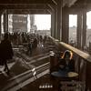 Cafe, High Line