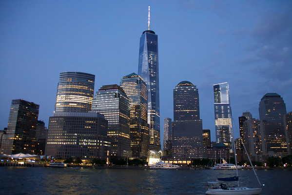 Waterscapes Of New York City