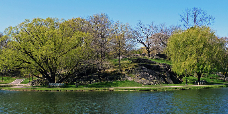 Walkway along Harlem Meer - Central Park - 2012