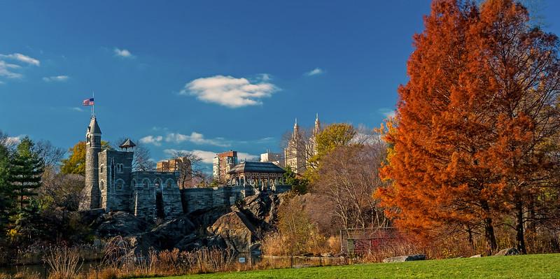Belvedere Castle - Central Park - 2015