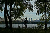 Jogging along Jacqueline Kennedy Onassis Reservoir - Central Park - 2008