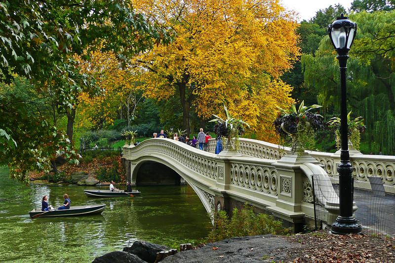 Bow Bridge - Central Park - 2008