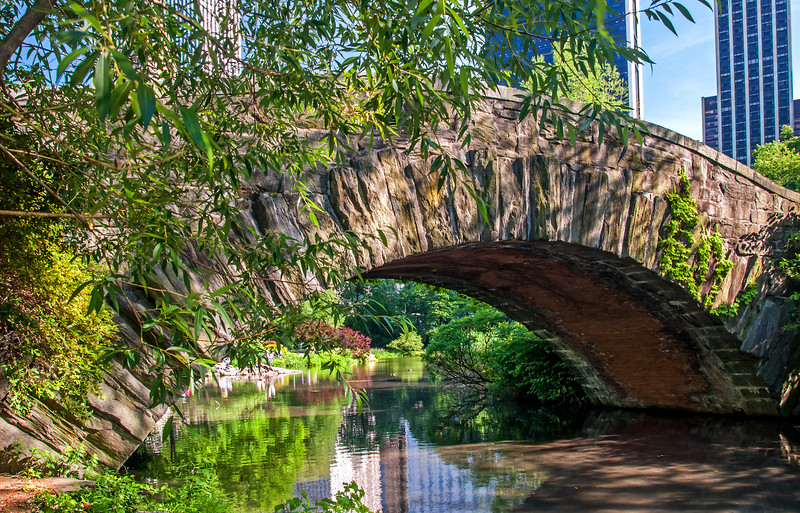 Gapstow Bridge - Central Park - 2016