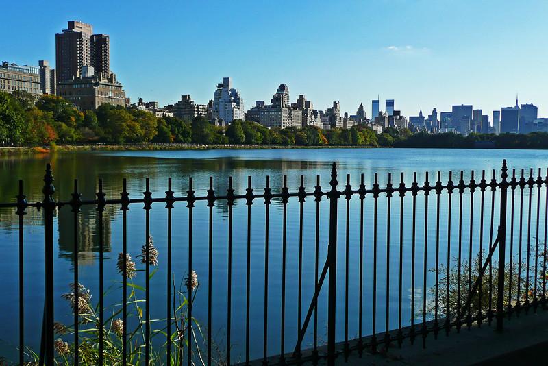 Jacqueline Kennedy Onassis Reservoir and Upper East Side - Central Park - 2008