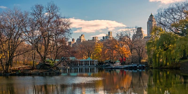 Loeb Boathouse - Central Park - 2015