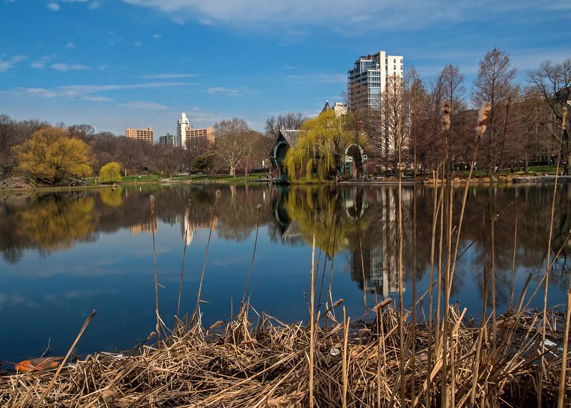 Harlem Meer - Central Park - 2015
