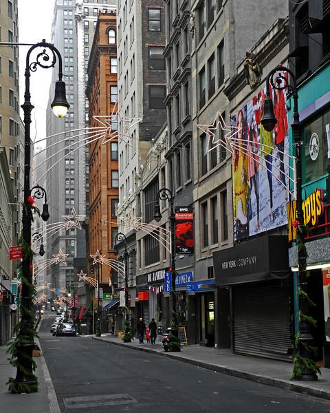 Nassau Street - Lower Manhattan - 2012