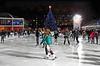Ice skating at Bryant Park - 2011