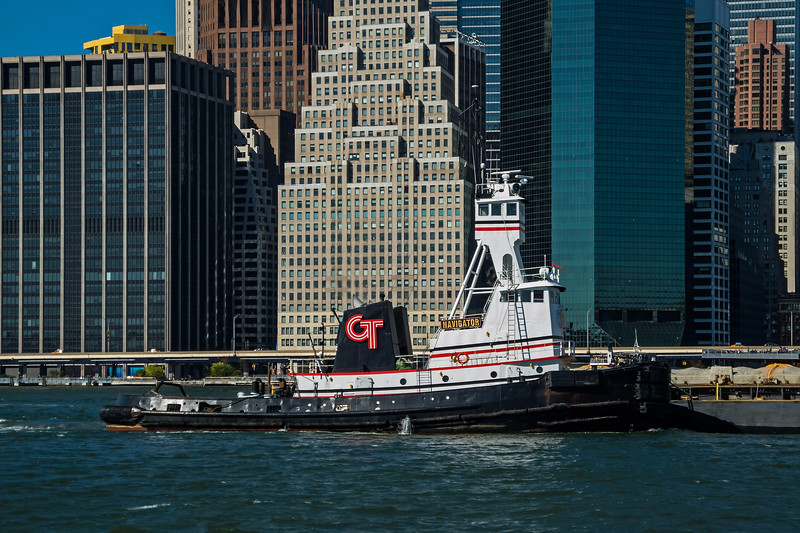 Tugboat on the East River - 2014