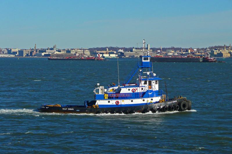 Tugboat in Hudson Bay - 2009