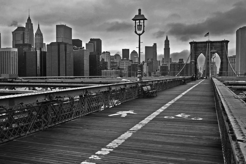 Brooklyn Bridge and Lower Manhattan - 2007