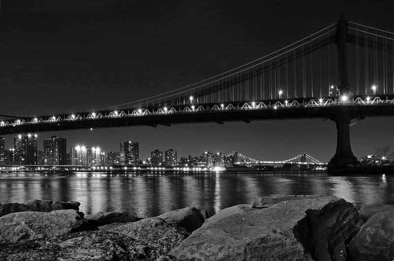 Manhattan and Williamsburg Bridges - 2011